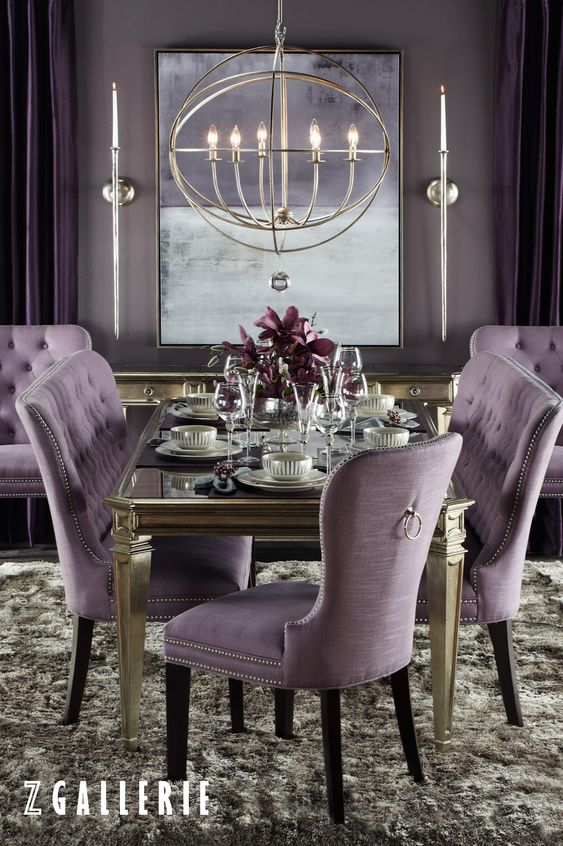 Dine in style. Save 15% on dining furniture and tableware  in stores and online at zgallerie.com with promo code DINE15. Through 9/28/2015.: