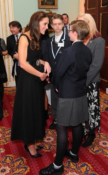 The Duchess of Cambridge attends Place2Be Wellbeing in Schools Awards at Mansion House on November 22, 2016 in London, United Kingdom.: