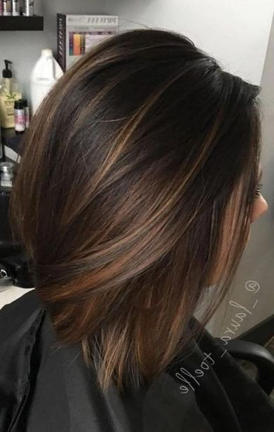 32 Ways To Wear Latest Ombre Hair Colors For Bob Haircuts 2019 Short Hair Models Hair Styles Brunette Hair Color Hair Highlights