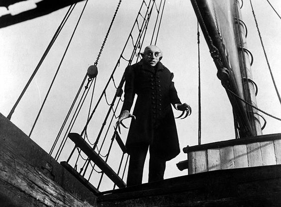 """""""Nosferatu. Eine Symphonie des Grauens."""" (F.W. Murnau, 1922)"""