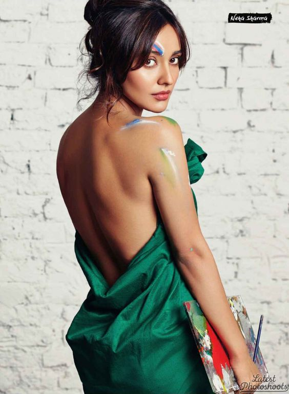 Neha Sharma FHM India September 2016 02