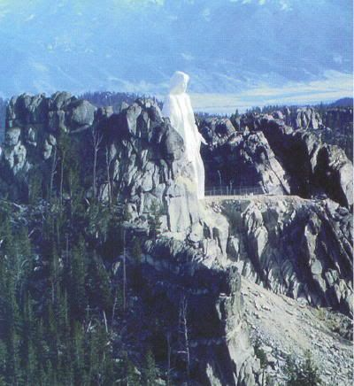 Our Lady of The Rockies ~ Montana-90 FT TALL