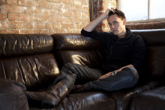 Tom Hiddleston by Sarah Dunn