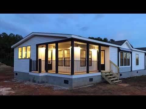 Our New Home Lulamae Farmhouse Youtube Mobile Home Exteriors Modular Home Plans Farmhouse Remodel