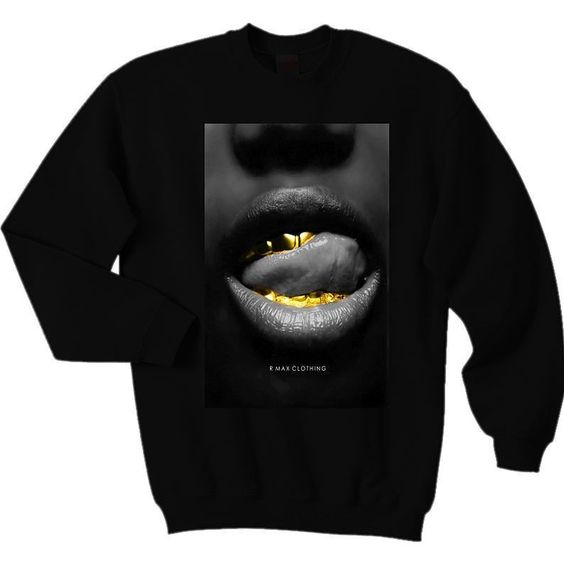 "Now available ""Gold Noir"" Sweatshirt...ORDER on WEBSITE. www.RMaxClothing.com #streetstyle #style #fashion #streetfashion #streetwear #hypebeast #urbanstyle #urbanwear #goldgrillz #styleguide #theshoegame #kicksonfire #complexkicks #fresherthanuraverage #sneakershouts #sneakerfiles #sneakercommunity #solecollector #igsneakercommunity #goldgrill #tshirt #tshirts #crewneck #crewnecks #menswear #mensfashion #goldgrillz #grillz by rmaxclothing #SoleInsider"