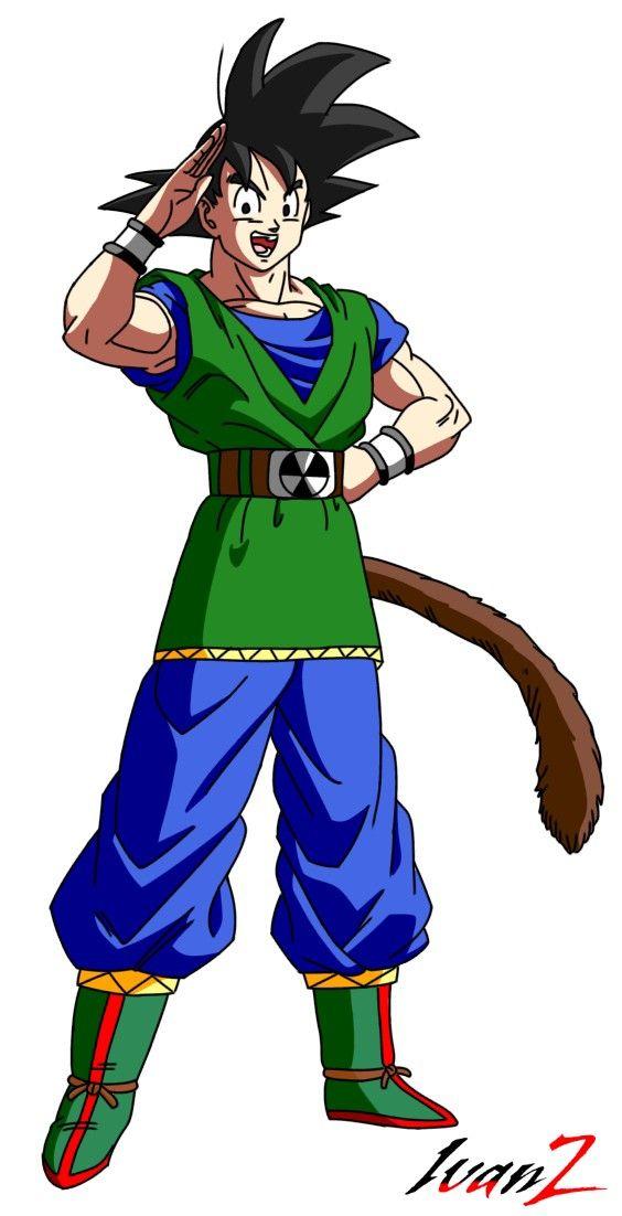 Goku Af Estado Base Personajes De Dragon Ball Dragones Dragon Ball
