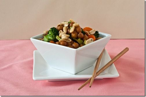 Teriyaki chickpea stirfry - why didn't I think of this??  YUM!