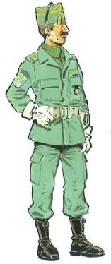 Legion Espanola - Comandante en Uniforme de Trabajo. 1991-94, pin by Paolo Marzioli
