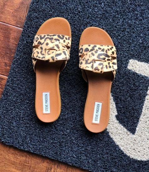 Leopard print shoes, Leopard sandals