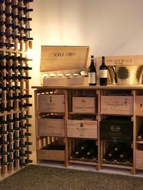 Rangement Caisses De Vin Meuble Du Type Buffet Pouvant Accueillir Vos Caisses De Vin Caisse A Vin Casier A Bouteille Caisse Bois Vin