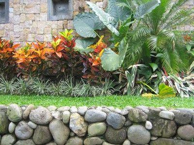for Decoracion de jardines con piedras y madera