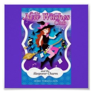 new witches club magical witch poster