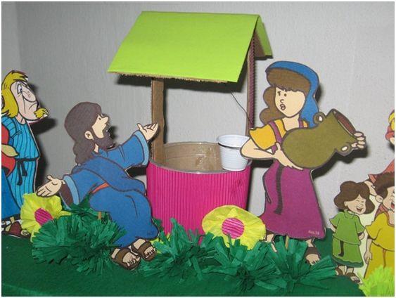 Aula Pré-Primário - Jesus e a mulher samaritana 002