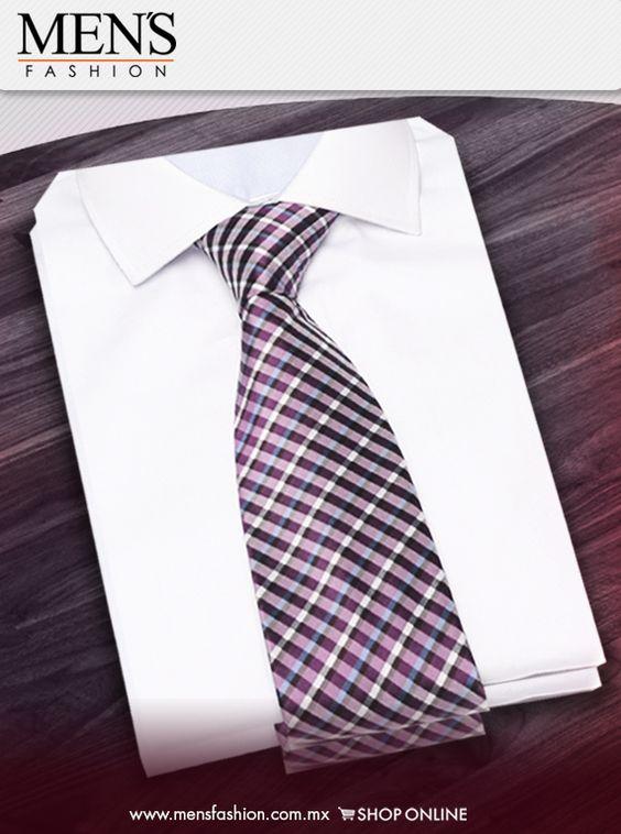 Una #Corbata puede ser un excelente regalo para tu #Pareja. ¡Regala #Moda! #SanValentín  www.mensfashion.com.mx