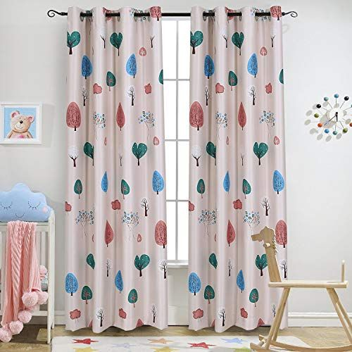 Nature Of Children S Curtains Kids Room Curtains Childrens Blackout Curtains Baby Pink Curtains