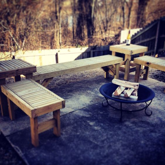 Bonfire patio furniture 2x4engineering 2x4 DIY Furniture Designs