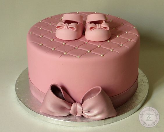 Atelier p te sucre cake design chaussons b b formation gateau design gateau original - Gateau bebe fille ...