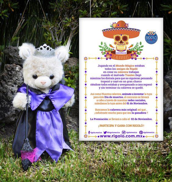 Concurso de #calaveras Rigoló. ¡Participa! www.rigolo.com.mx
