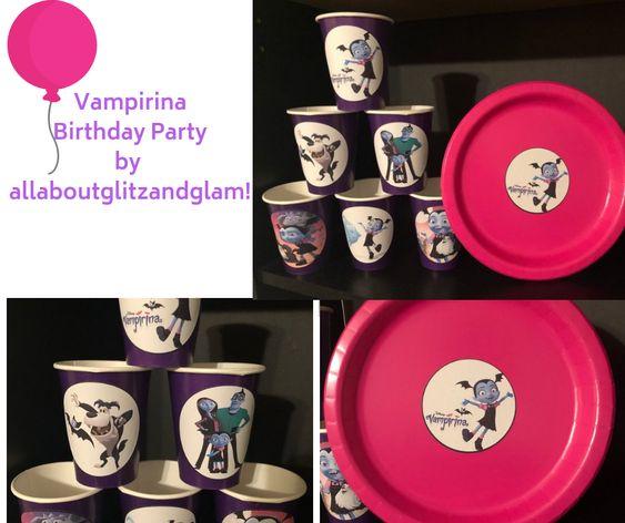 Vampirina Birthday Party by allaboutglitzandglam