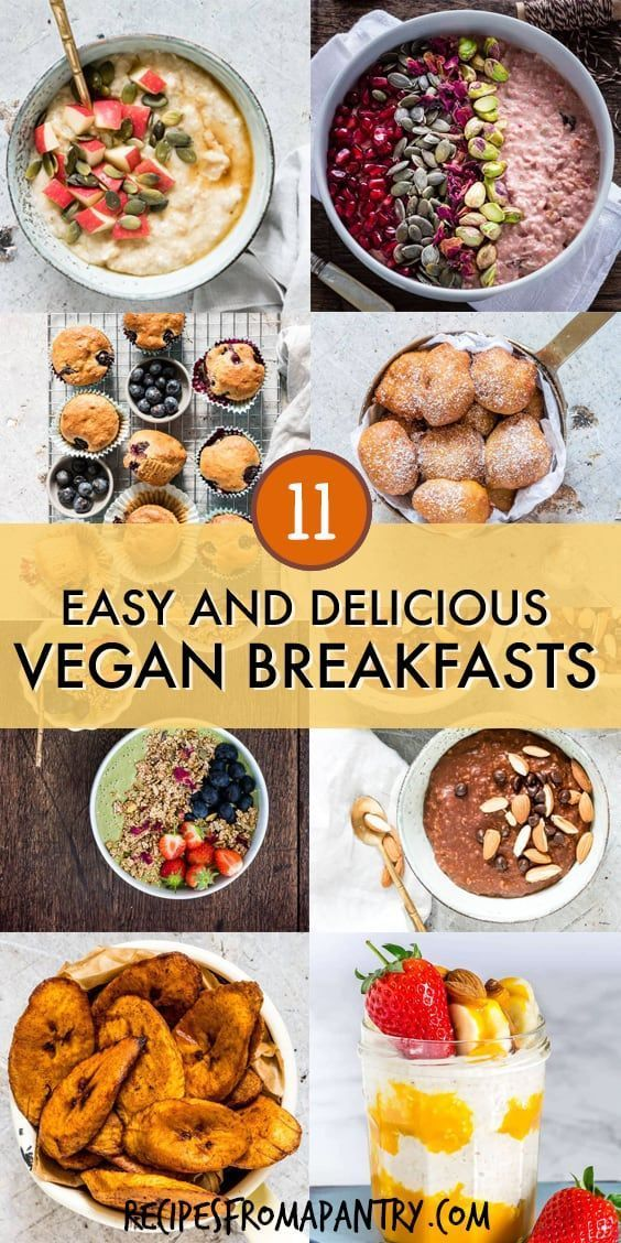 101 Easy Vegan Recipes Vegan Breakfasts Are Not Just About Oatmeal Or Smoothies Although I L Vegan Brunch Recipes Vegan Recipes Easy Breakfast Recipes Easy