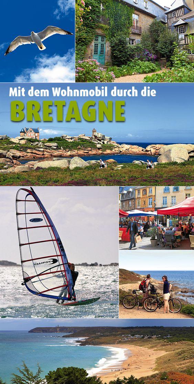 """Magisches Land am Rand Europas: die Bretagne ist herb und eigenwillig. Wohnmobil-Fahrer, die das Besondere lieben, reisen an die """"Côte de Granit Rose"""" und entdecken dort Naturkunstwerke. #Wohnmobil #Frankreich"""