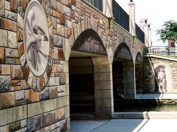 Pinterest the world s catalog of ideas for Bridge mural frederick md