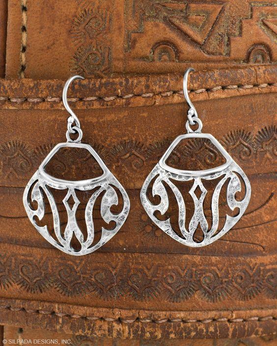 Parisian Bistro Earrings | Jewelry by Silpada Designs $39 www.mysilpada.com/laureen.greeley