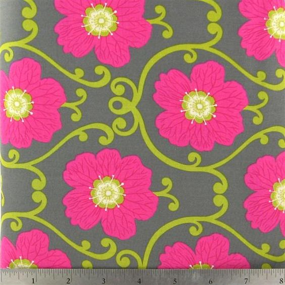 fabric:  Ecograda Rose