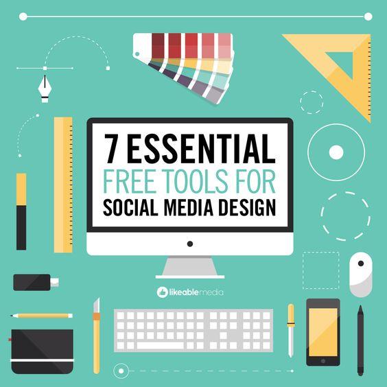 7 herramientas gratuitas para el diseño de tus redes sociales