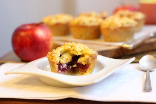 little apple raspberry and custard pies (butterbaking.wordpress.com)
