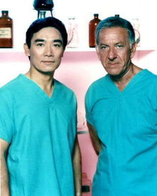 Quincy, M.E. ran from 1976 to 1983. Quincy (Jack Klugman) and Sam (Robert Ito) are working as Coroners. Inspecting dead people they often see facts that don't match the theories of the police how or if really they were murdered.