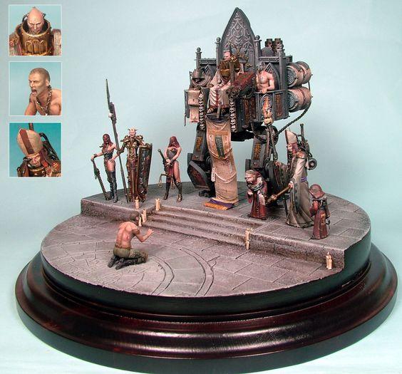Inquisition Diorama - Golden Demon Winner, Germany 2008