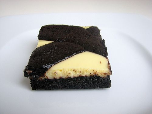black and white cheesecake bars | Want to Cook, Bars & Brownies ...