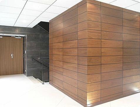 Paneles de madera para las paredes muros pinterest - Madera para paredes ...