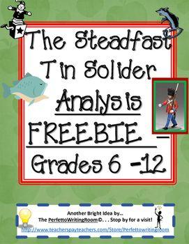 FREEBIE - Steadfast Tin Soldier Essay Samples for Critical Comparison Grades 6-12