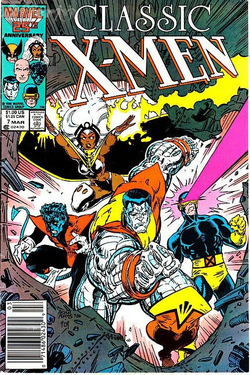 Classic X Men 7 Cover By Art Adams In 2020 Comics Comic Book Superheroes Marvel Comics Covers