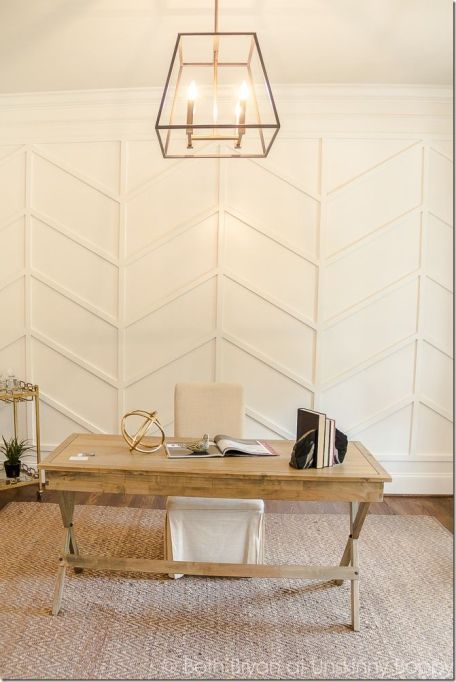 Cheap Wall Covering Ideas Diy Molding Accent Wall Home Home