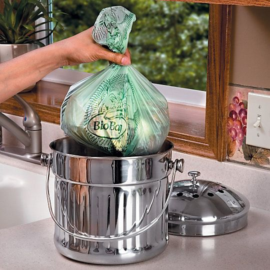 Making Compost – What Items to Use: Collect Kitchen, Backyard Composter, Countertop Compost, Kitchen Countertops, Veggie Scraps, Scraps Egg, Biodegradable Compost