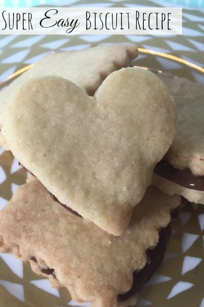Great to get kids in the kitchen - Super Easy biscuit recipe