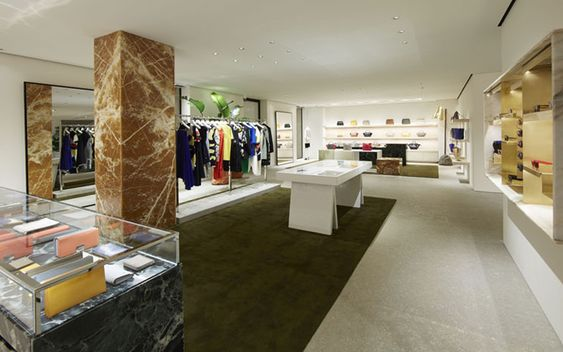 Ce?line  Avenue Montaigne  Paris  France CELINE Pinterest - design juwelierladen relojeria alemana