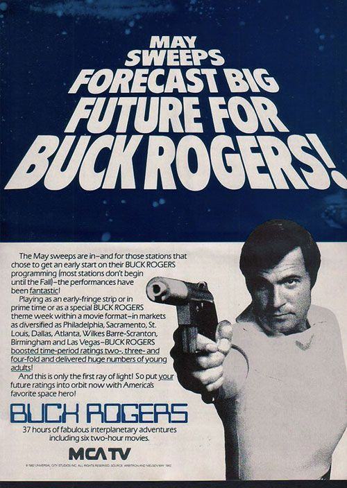 Buck Rogers in the 25th Century (1979) May Sweeps Ad Courtesy of Peter Noble ~space1970
