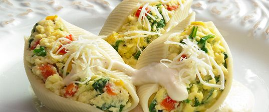 Spinach- Stuffed Shells with Italian Cheeses | Wisconsin Milk Marketing Board
