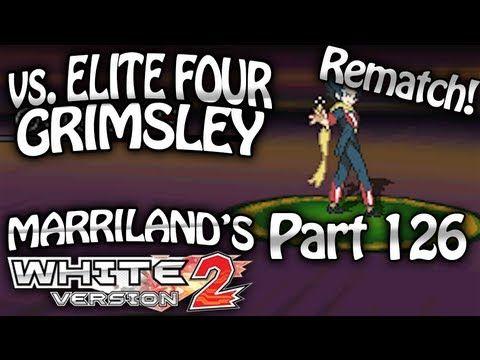 Pokemon White 2 Part 126 Elite Four Grimsley Rematch Pokemon White Pokemon Black Pokemon