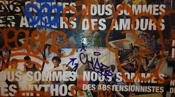 Nous sommes #PASQUE des graffitis : http://www.pas-que.com/