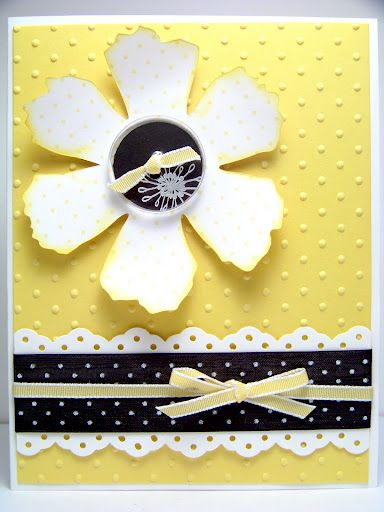 bright and sunny card