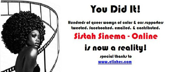 Busk Films has launched Sistah Sinema Queer Women of Color channel! Pretty special news, am hoping we can access  it in New Zealand!