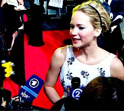 Jennifer Lawrence at the Mockingjay: Part 1 Premiere in London