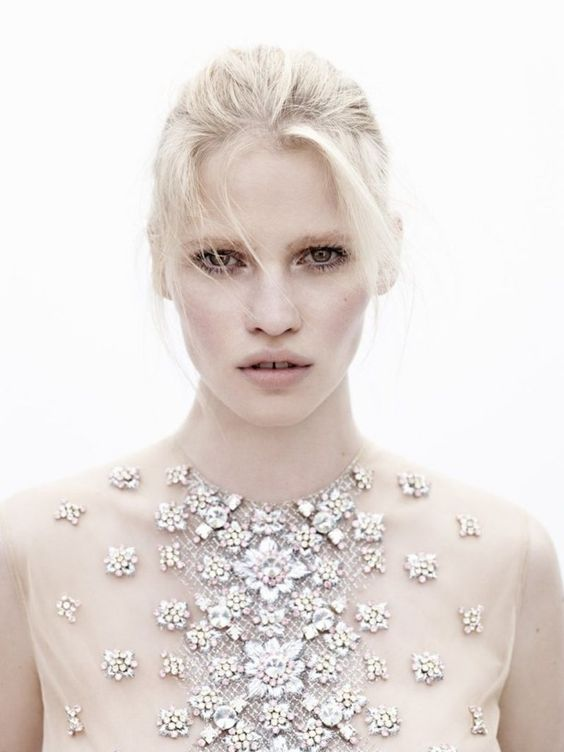 pale skin is in - Lara Stone for Vogue Netherlands