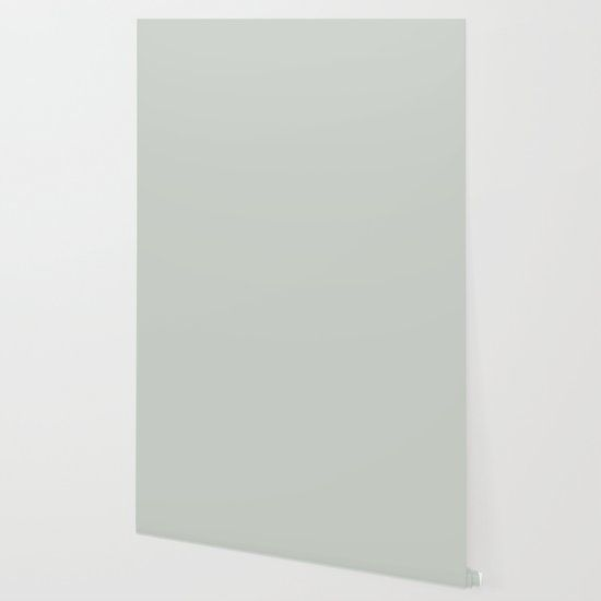Gray Grey Sea Salt Solid Color Block Wallpaper By Beautifulhomes Society6 Silver Grey Wallpaper Grey Wallpaper Colorful Wallpaper