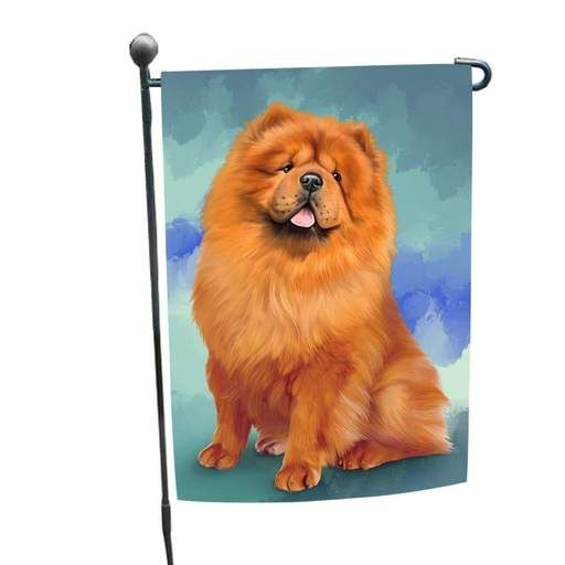 Chow Chow Dog Garden Flag With Images Dog Garden Flags Cat